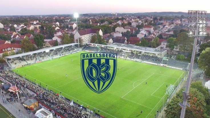 Alles zum Spiel des SV Babelsberg lesen Sie hier auf news.de. (Foto)