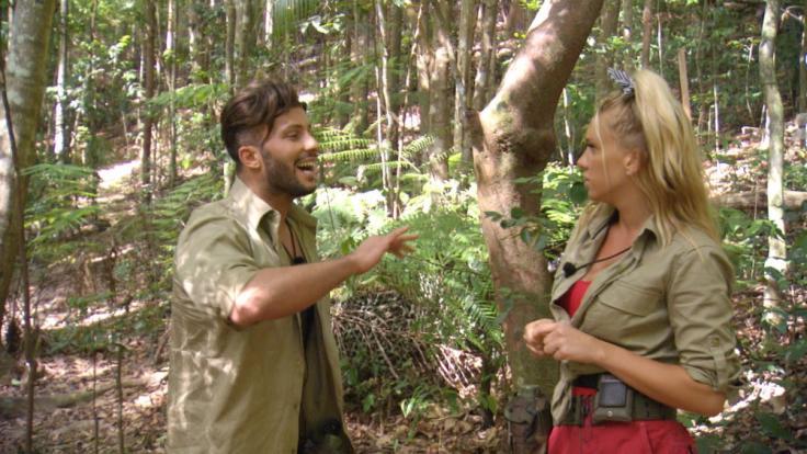 An Tag 5 krachen Evelyn und Domenico im Dschungelcamp richtig aneinander. (Foto)