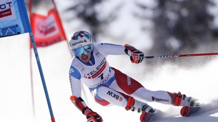 Die alpinen Ski-Damen gastieren aktuell in Lenzerheide (Schweiz).