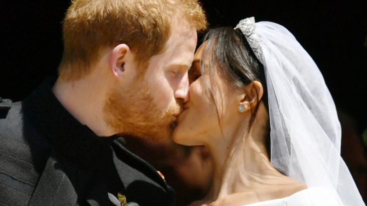Prinz Harry und Meghan Markle sind verheiratet.