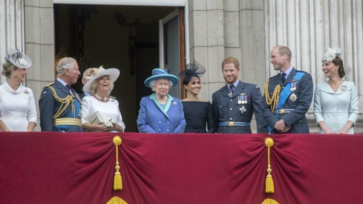 Auch die britische Königsfamilie wird bei diesem Archiv-Fund schmunzeln. (Foto)