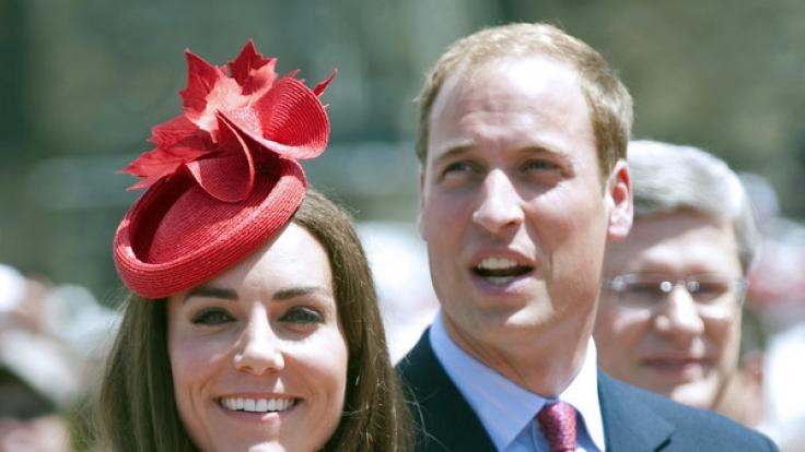 Nächste Woche auf Deutschland-Besuch: Herzogin Kate und Prinz William