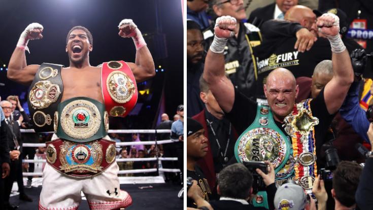 Wer hat die WM-Gürtel nach dem Schwergewichtskampf der Superlative, Anthony Joshua oder Tyson Fury?