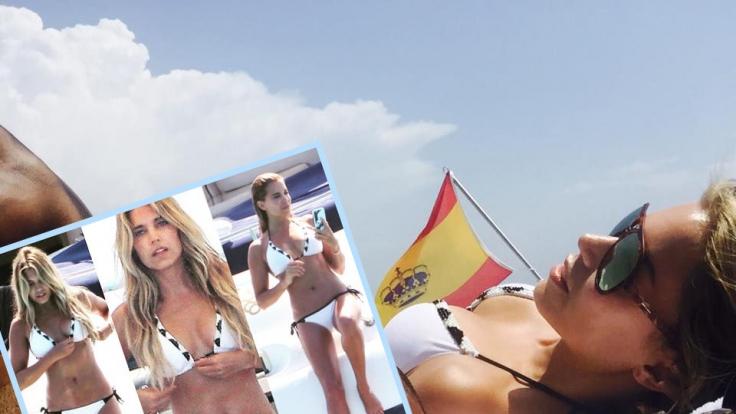 Sylvie Meis ist im Urlaub. (Foto)