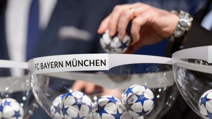 Die Auslosung der Gruppenphase zur UEFA Champions League 2016/17.