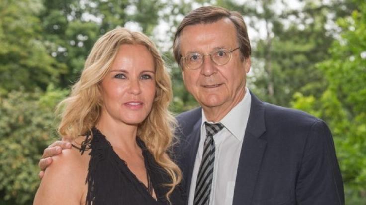 Katja Burkard und Hans Mahr sind seit über 20 Jahren ein Paar - allerdings in wilder Ehe.