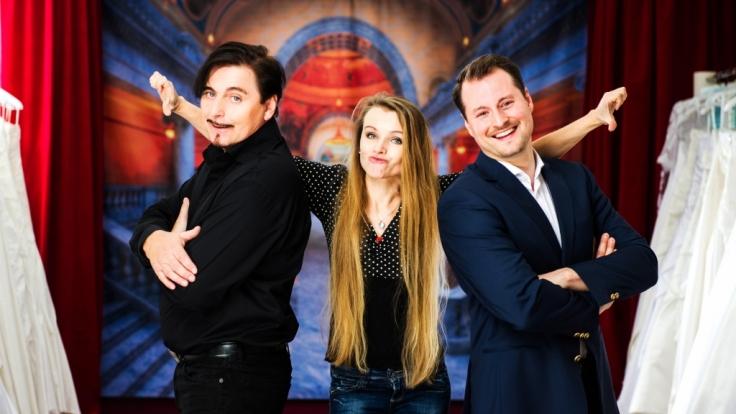 Uwe Herrmann, Ex-Verlobte Winnie und Sohn Philipp: Gemeinsam ein unschlagbares Team.