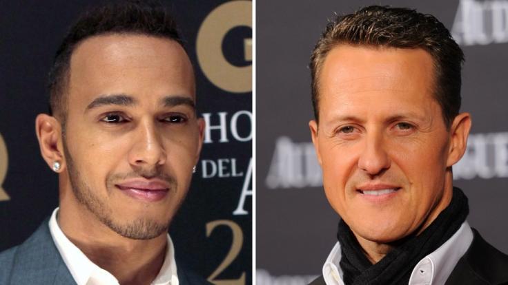Lewis Hamilton hat Michael Schumacher einen weiteren Rekord streitig gemacht. (Foto)