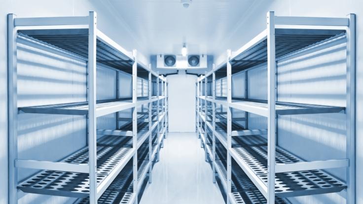 In den USA hat sich eine betrunkene Frau in einen begehbaren Kühlschrank verirrt und ist gestorben. (Foto)