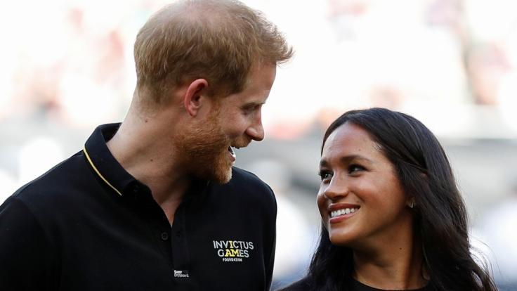 Meghan Markle und Prinz Harry lassen die Öffentlichkeit nur selten an ihrem Privatleben teilhaben. (Foto)
