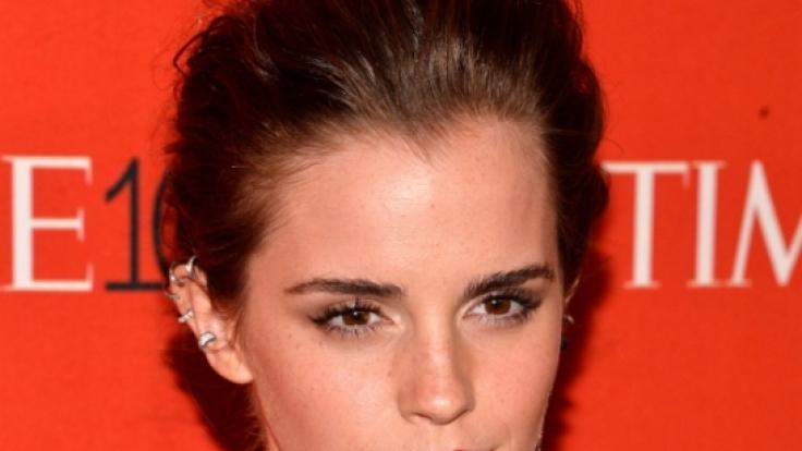 Ist sich ihrer Vorbildfunktion bewusst: Emma Watson. (Foto)