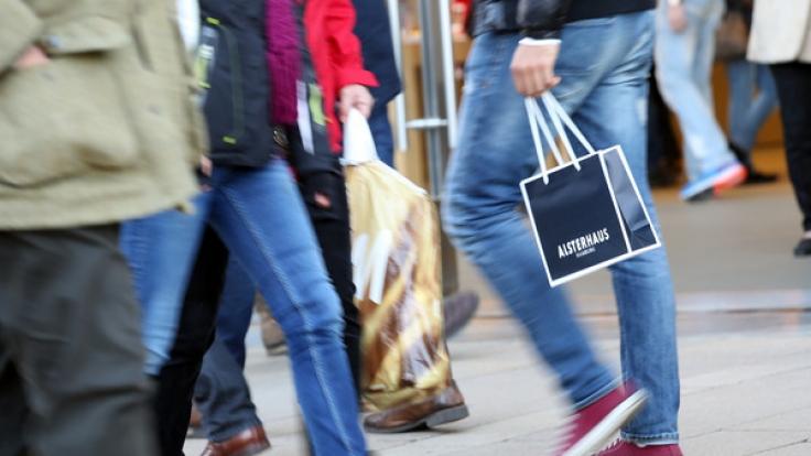 Auch am 25.12. können Sie in manchen Städten einkaufen gehen. (Foto)