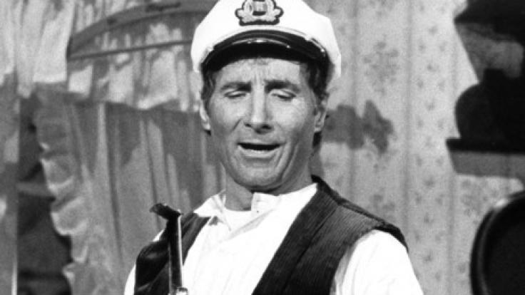 Freddy Quinn wurde vor allem als singender Seemann bekannt.