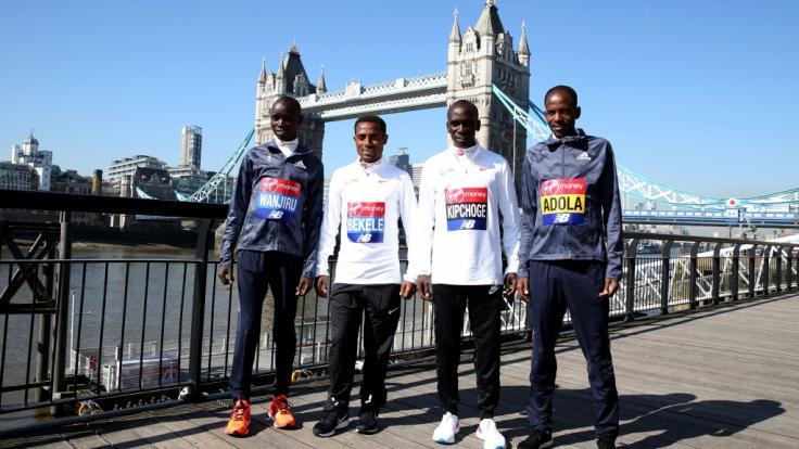 Kipchoge gewinnt London-Marathon in 2:04:27 Stunden