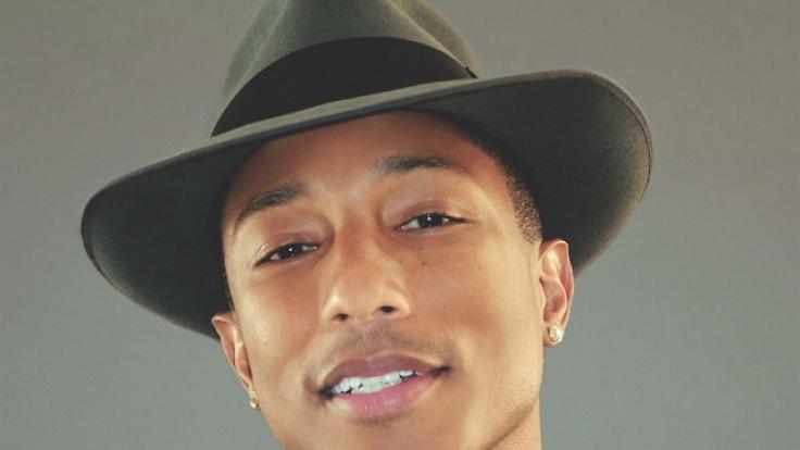 Sänger, Produzent und Songwriter: Pharrell Williams