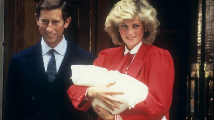 Ein glücklicher Moment für Lady Di in der sonst glücklosen Ehe mit Prinz Charles (Foto)