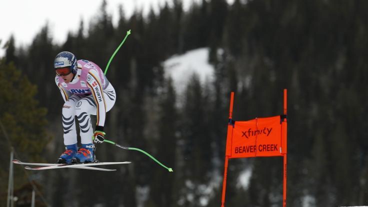 Der deutsche Ski-Star Thomas Dreßen ist bei der Abfahrt in Beaver Creek in den USA schwer gestürzt. (Foto)