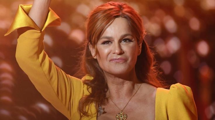 Andrea Berg verzückte die Fans in der Berliner Waldbühne. (Foto)