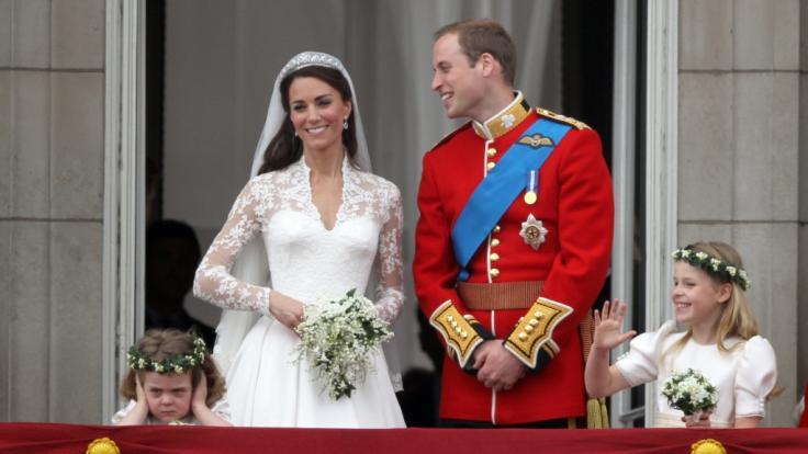 Die Hochzeit von Kate Middleton und Prinz William am 29. April 2011 ging in die Royals-Geschichte ein.