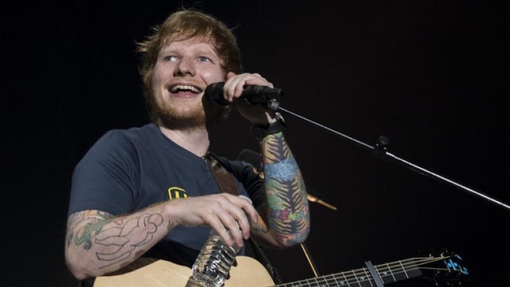 Auch Ed Sheeran ist bei den MTV Video Music Awards 2017 mit dabei.