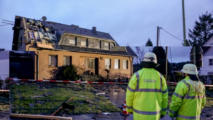 Ein Tornado hat in der Eifelgemeinde Roetgen Dächer abgedeckt, Häuser beschädigt und die Bewohner erschreckt. (Foto)
