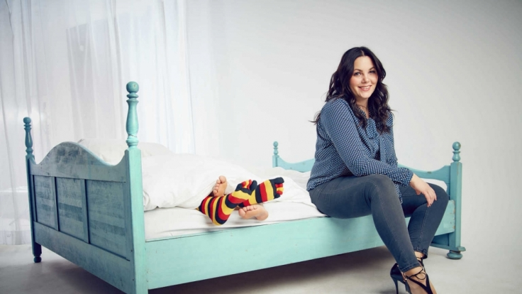 Paula Lambert holt sich für ihren Zweiteiler im Fernsehen Verstärkung aus dem eigenen Haus. (Foto)