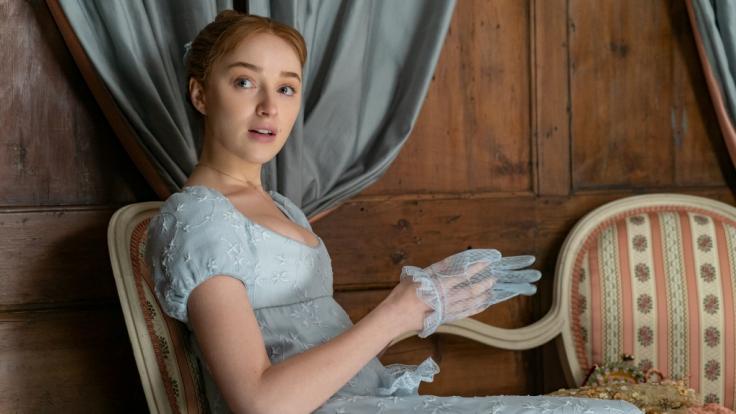 Phoebe Dynevor in ihrer Rolle als Daphne Bridgerton. (Foto)