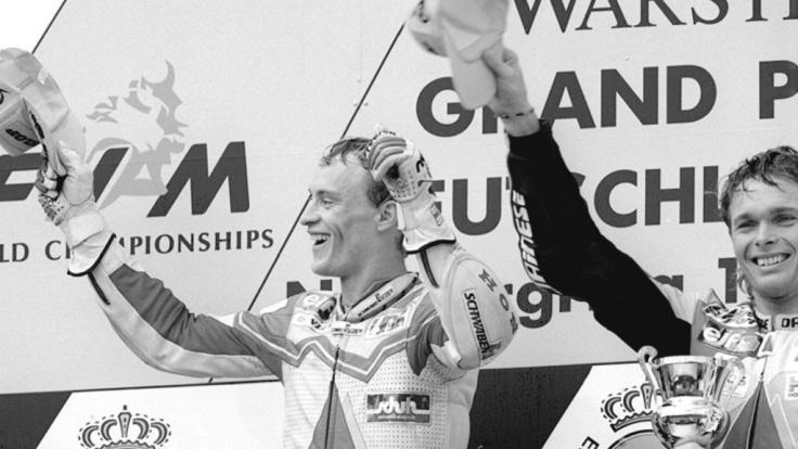 Ralf Waldmann war einer der besten deutschen Motorrad-Rennfahrer. (Foto)