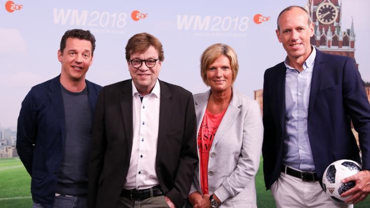 Gemeinsam mit Oliver Schmidt, Bela Rethy und Martin Schneider übernimmt Claudia Neumann die ZDF-Berichterstattung von der Fußball-WM 2018.