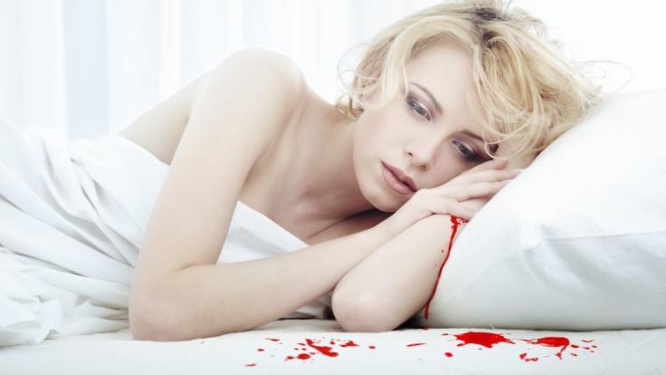 Wie in einem Horrorfilm: Eine Texanerin wurde von aus der Zimmerdecke tropfendem Blut aus dem Schlaf gerissen (Symbolbild). (Foto)