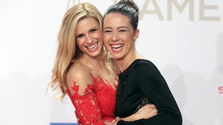 Michelle Hunziker und ihre Tochter Aurora Hunziker-Ramazzotti sind in Sachen sexy Fotos bei Instagram geteilter Meinung. (Foto)