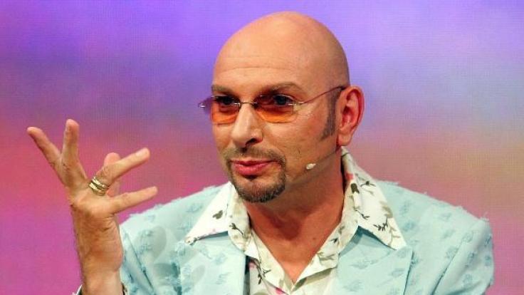 Entertainer Ralph Morgenstern gehört zu den schillerndsten Persönlichkeiten im deutschen Fernsehen. (Foto)