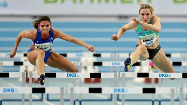 Am 16. und 17.02.2019 misst sich in Leipzig Deutschlands Leichtathletik-Elite. (Foto)