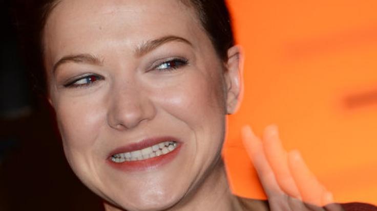 Die Schauspielerin Hannah Herzsprung, Tochter von Bernd Herzsprung, im Jahr 2013 in Berlin. (Foto)
