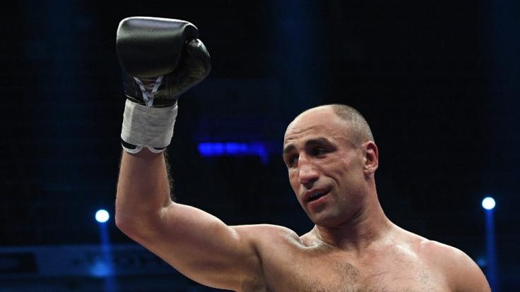 Für den 37 Jahre alten Profiboxer Arthur Abraham geht es beim Kampf gegen Robin Krasniqi um Alles oder Nichts. (Foto)