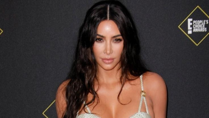 Kim Kardashian brachte ihre Fans mit einem Unterwäsche-Hammer zum Sabbern