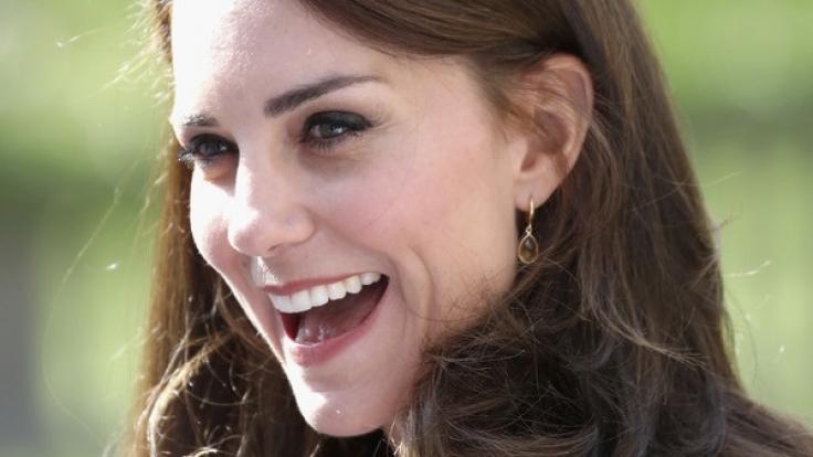 Kate Middleton hat allen Grund zur Freude: Im Frühjahr kommt ihr drittes Kind zur Welt. (Foto)