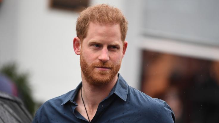 Prinz Harry ist ordentlich auf die Schippe genommen worden.