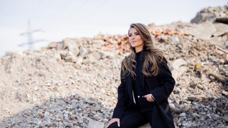 Sophia Thomalla ist nicht nur Investorin bei Schüttfix sondern auch Testimonial. (Foto)