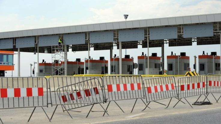 Für die Europameisterschaft sind in Polen rund 1100 Kilometer Autobahn verbaut worden. Doch weitere geplante Abschnitte werden nicht mehr rechtzeitig fertig. (Foto)