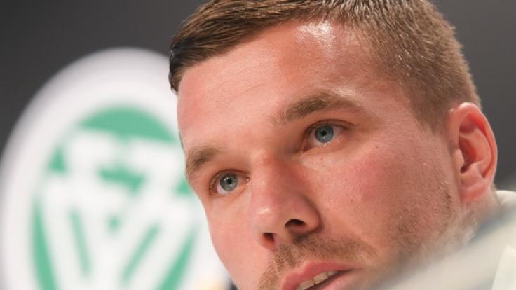 Nationalspieler Lukas Podolski bestreitet mit dem Länderspiel Deutschland gegen England am Mittwoch (22.03.2017) sein Abschiedsspiel in der deutschen Fußballnationalmannschaft.