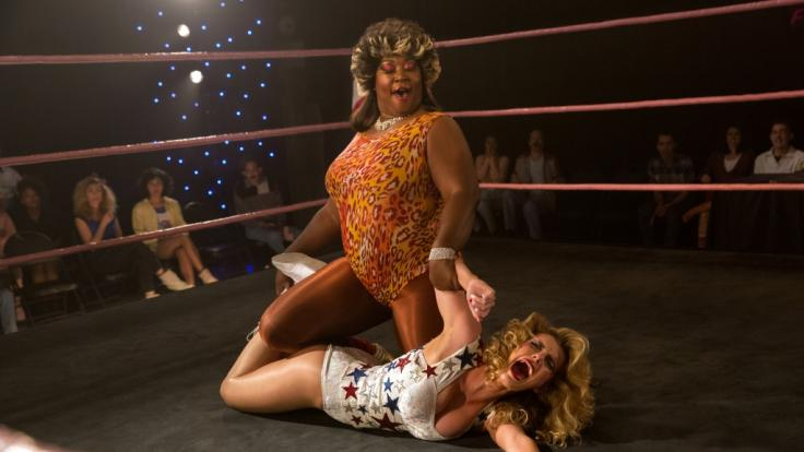 Die Gorgeous Ladies of Wrestling steigen bei Netflix erneut in den Ring. (Foto)