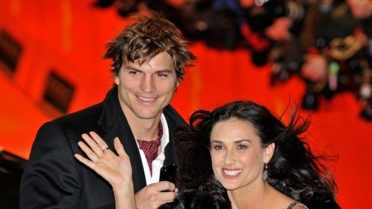Demi Moore und Ashton Kutcher sind glücklich verheiratet - trotz des Altersunterschied von 15 Jahren. (Foto)