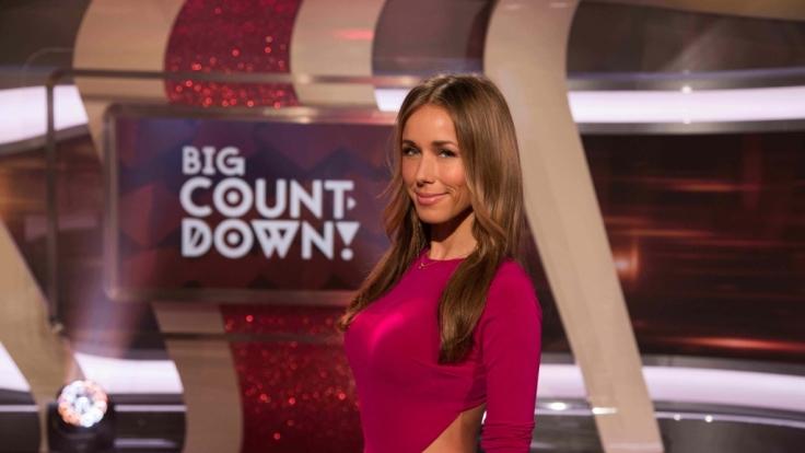 """Annemarie Carpendale präsentiert den """"Big Countdown"""" bei Pro Sieben. (Foto)"""