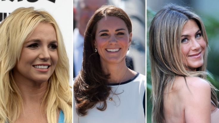 Britney Spears, Herzogin Kate und Jennifer Aniston: Unterschiedliche Figuren, unterschiedlich viele Kilos - wir verraten, was die Promis wiegen. (Foto)