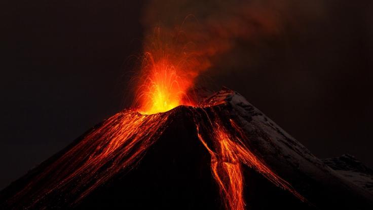 Vulkan-Forscher haben dieser Tage herausgefunden, dass der Erdkern Bestandteile des Elements Wolfram verliert. (Foto)
