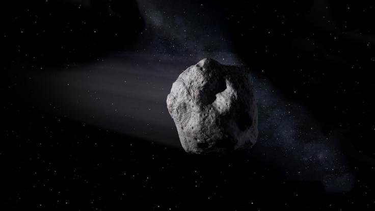Beinahe täglich fliegen Asteroiden an der Erde vorbei. (Symbolbild) (Foto)