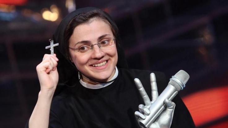 Die italienische Ordensschwester Cristina Scuccia gewann The Voice of Italy. (Foto)