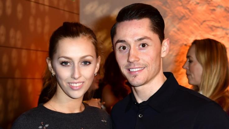 Kunstturner Andreas Toba ist mit der ehemaligen rhythmischen Sportgymnastin Daniela Potapova liiert. (Foto)