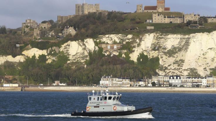 Englische Küste (Symbolbild)